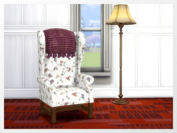 All4Sims: Whispering armchair by Oldbox