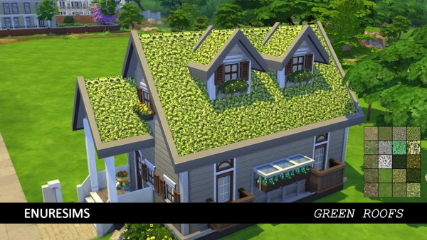 Enure Sims: Green Roofs