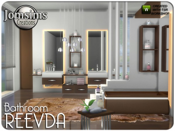 The Sims Resource: Reevda bathroom by jomsims