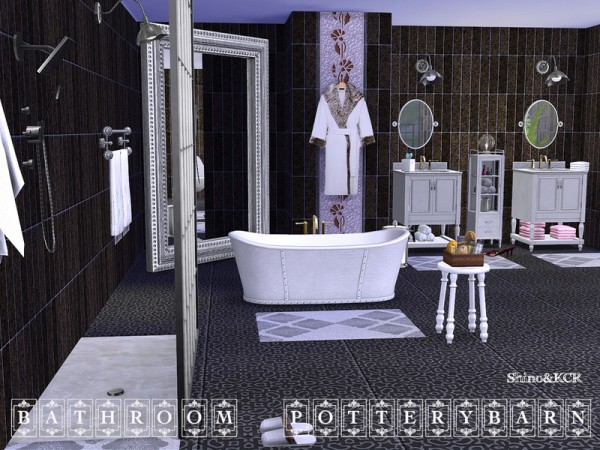 The Sims Resource: Bathroom Potterybarn by ShinoKCR