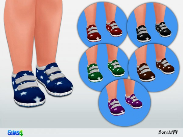The Sims Resource: Shoes for toddler by Sonata77