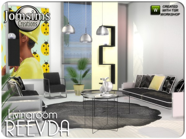 The Sims Resource: Reevda livingroom by jomsims