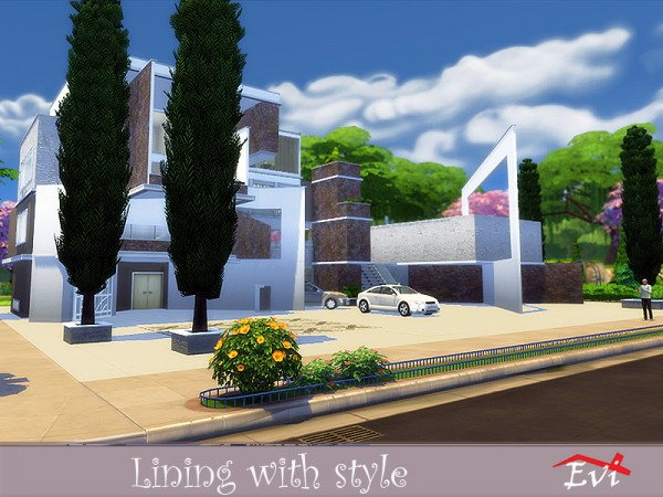 The Sims Resource: Living with style   house by evi