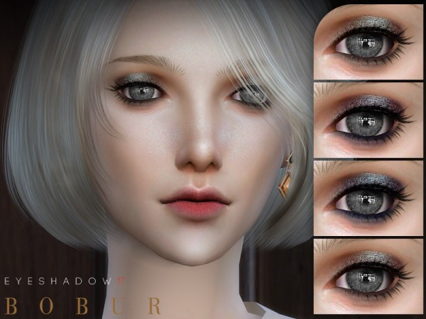 The Sims Resource: Eyeshadow 17 by Bobur3