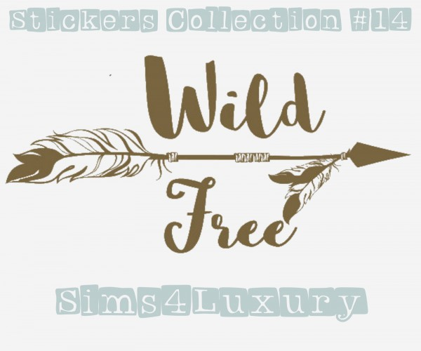 Sims4Luxury: Stickers Collection 14