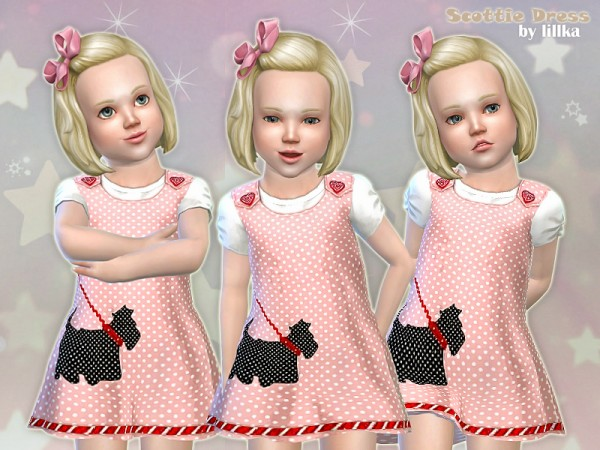 The Sims Resource: Scottie Dress by lillka