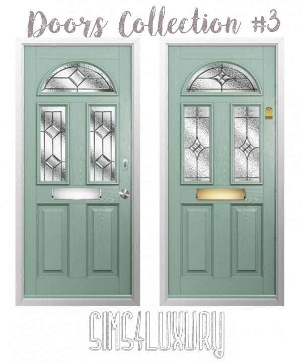 Sims4Luxury: Door Collection 3