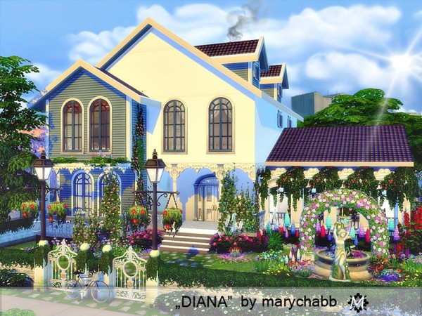The Sims Resource: Diana house by marychabb