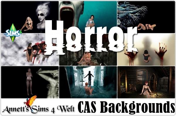 Annett`s Sims 4 Welt: CAS Backgrounds Horror