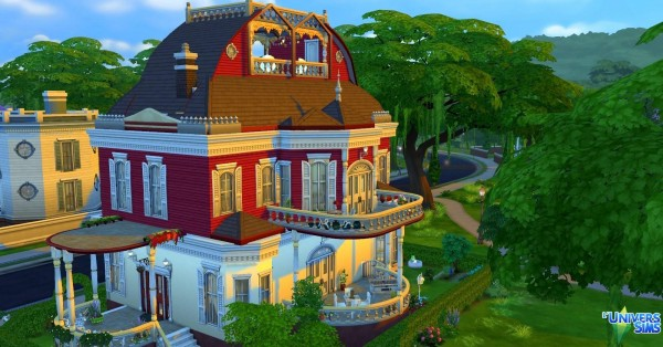 Luniversims: Sugar house by Coco Simy