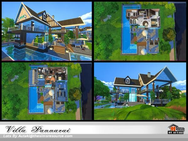 The Sims Resource: Villa Pannarai by Autaki