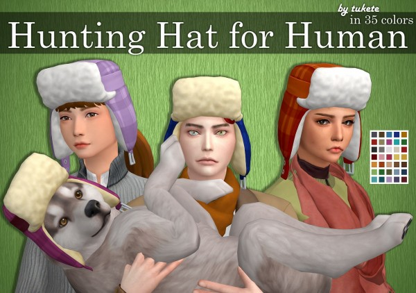 Tukete: Hunting Hat for Human
