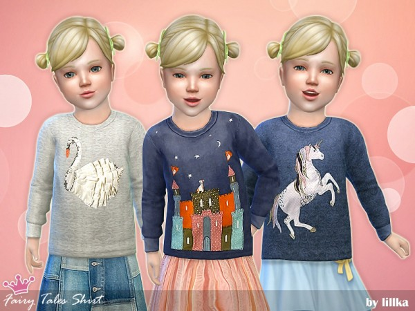 The Sims Resource: Fairy Tales Shirt by lillka