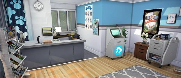 Simsontherope: Blue Dog Clinic