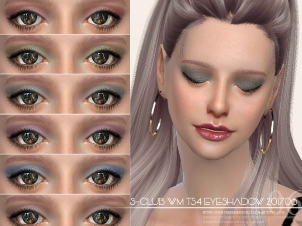 The Sims Resource: Eyeshadow 201706 by S Club