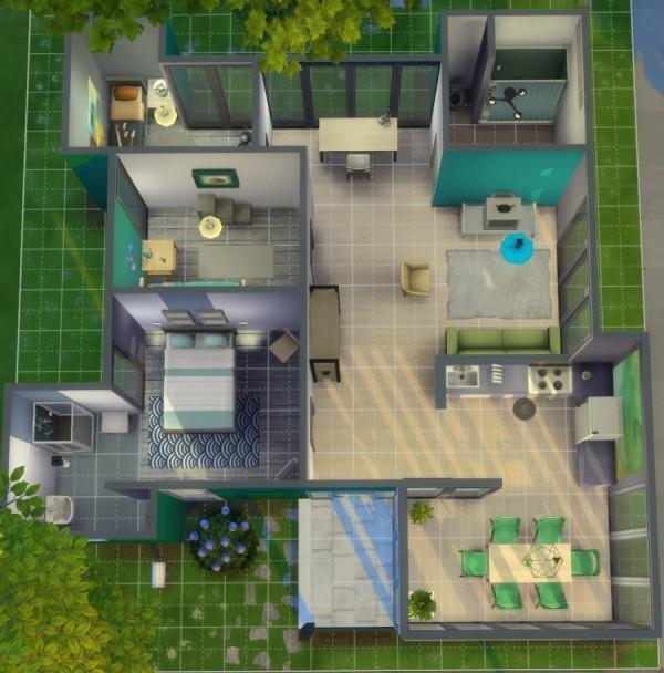 Sims Artists: Starter house Defi