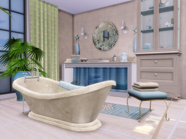 The Sims Resource: Breezy Avenue house by MychQQQ