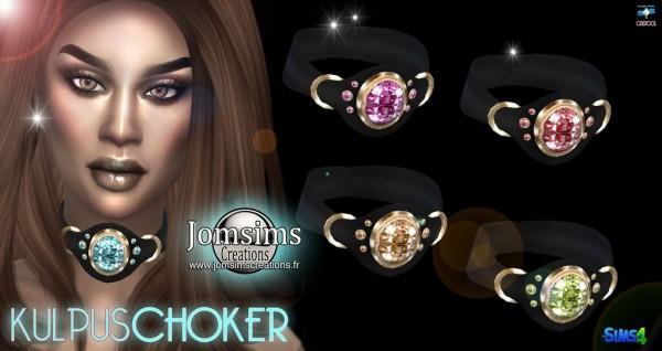 Jom Sims Creations: Kulpus choker