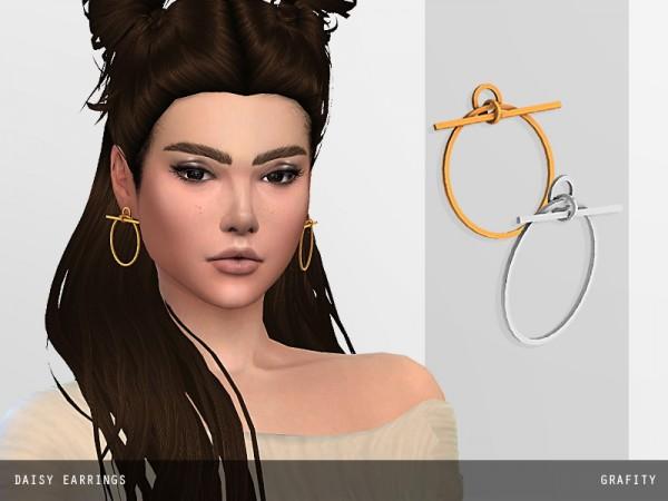 Arthurlumierecc: Daisy earrings