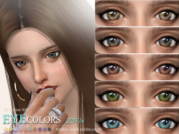 The Sims Resource: Eyecolors 201716 by S Club