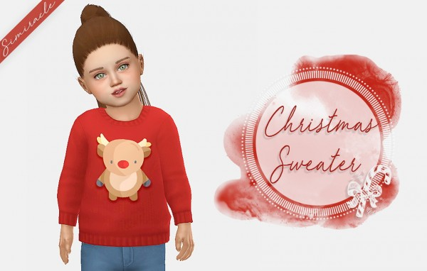 Simiracle: Christmas Sweater For Toddlers