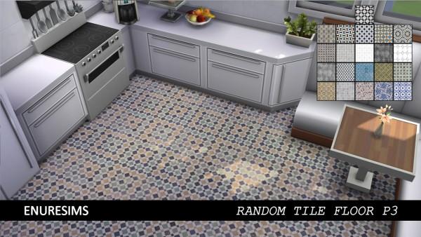 Enure Sims: Random Tile Floor P3
