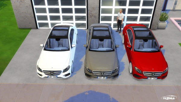Lory Sims: Mercedes Benz E Class