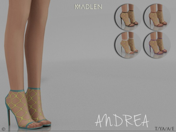 The Sims Resource: Madlen Andrea Shoes by MJ95