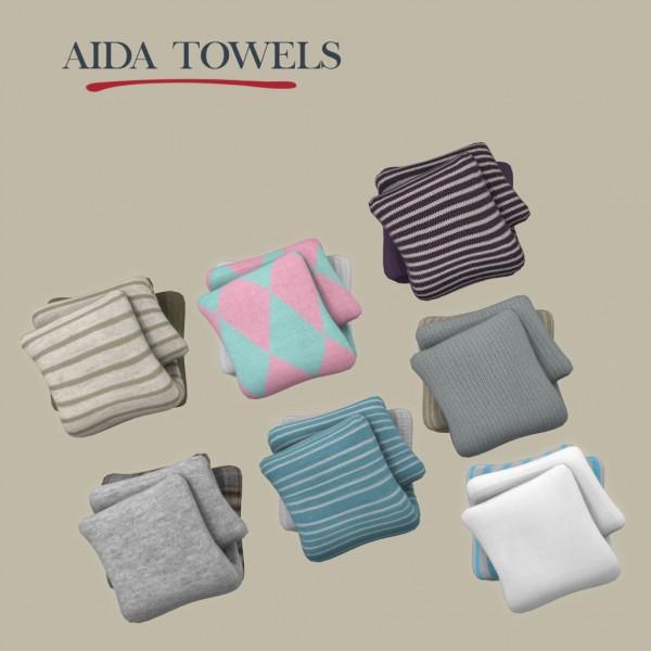 Leo 4 Sims: Aida towels