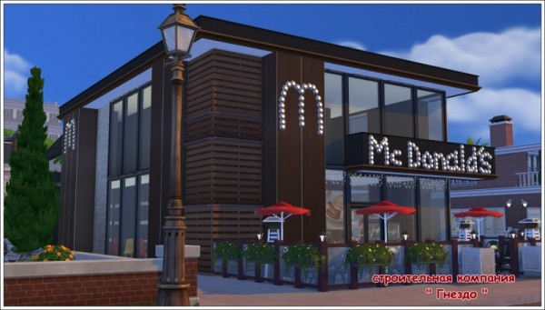 Sims 3 by Mulena: McDonalds Restaurant