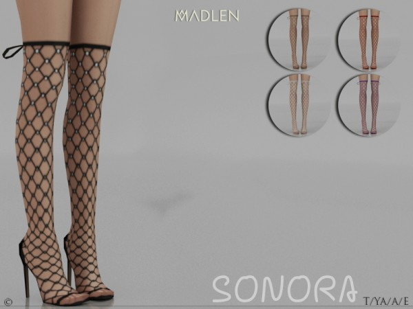 The Sims Resource: Madlen Sonora Boots by MJ95
