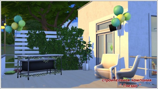 Sims 3 by Mulena: Small house Prostory