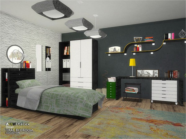 The Sims Resource: Tral Bedroom by ArtVitalex
