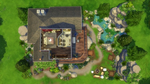 Sims Artists: Neo cottage