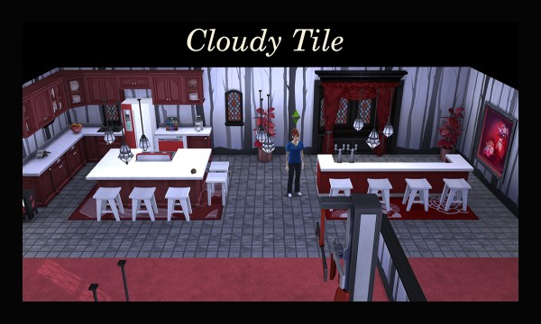 Mod The Sims: Cloudy Tile by Simmiller