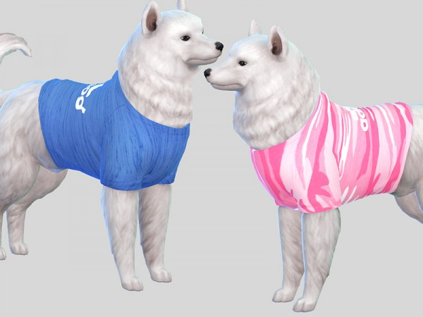The Sims Resource: Adidog Sporty Sweatshirts by