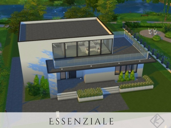 The Sims Resource: Lessenziale house by Kuri96