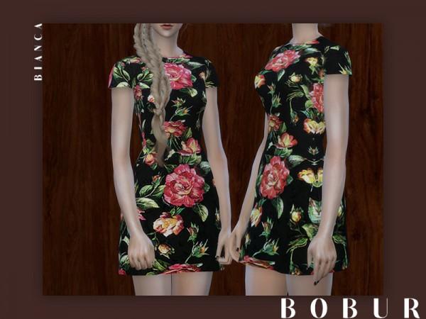 The Sims Resource: Dress bianca by Bobur3