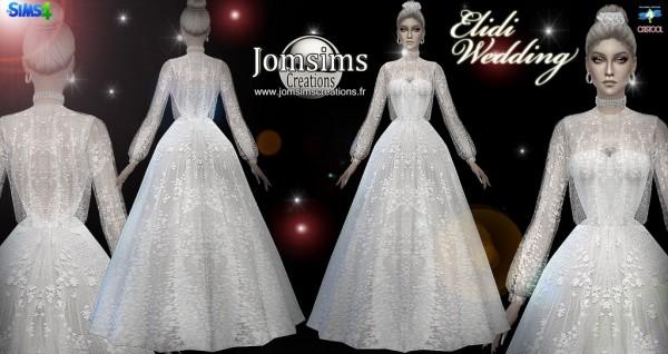 Jom Sims Creations: Elidi dress