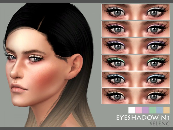 The Sims Resource: Eyeshadow N1 by Seleng