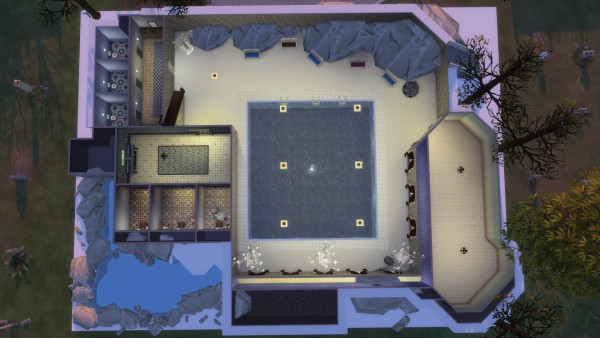 Mod The Sims: Mountain shelter by Aya20