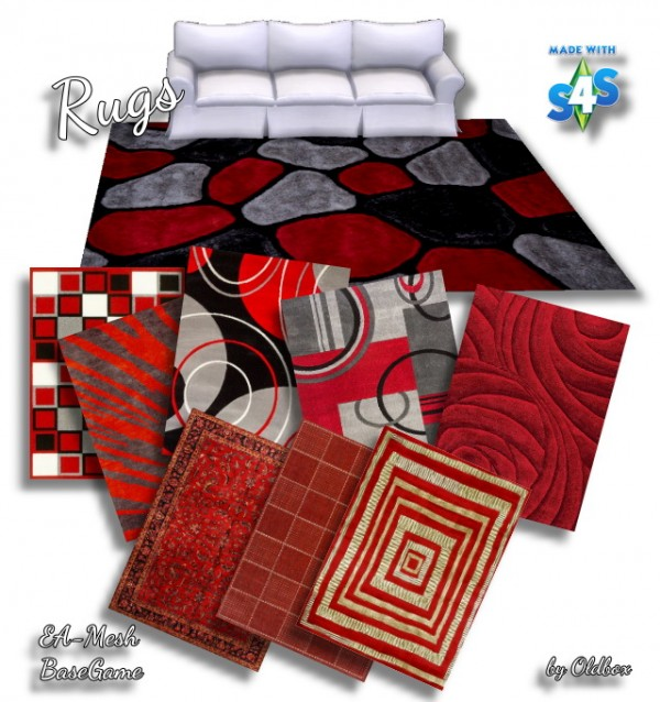 All4Sims: Carpeting by Oldbox