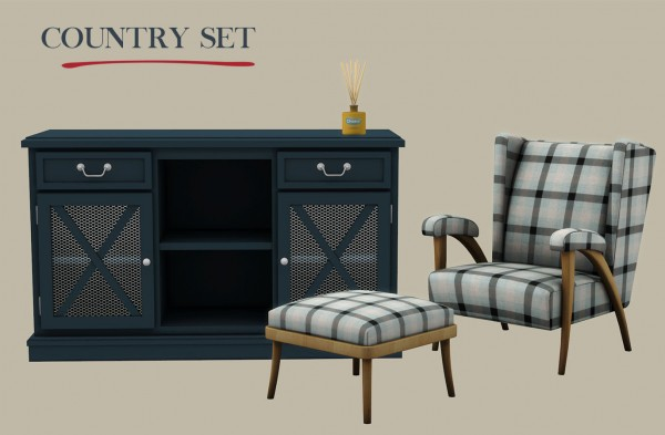 Leo 4 Sims: Country set
