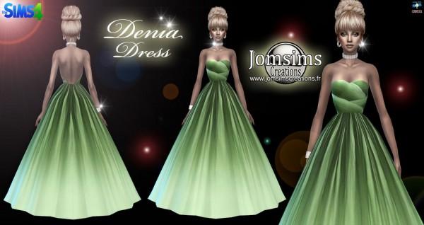 Jom Sims Creations: Denia dress