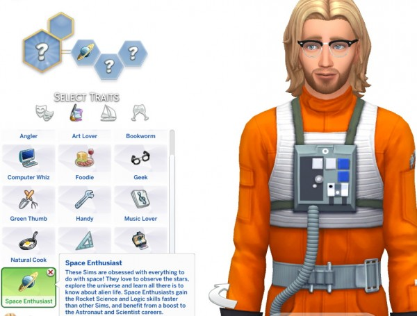 how to change a sims traits sims 4