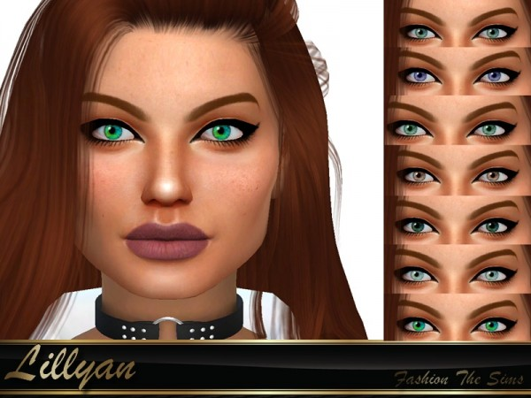 The Sims Resource: Color eyes by LYLLYAN