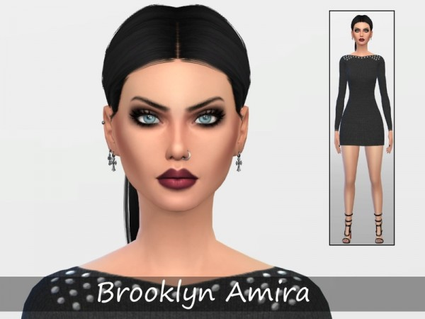The Sims Resource: Brooklyn Amira by Sand y