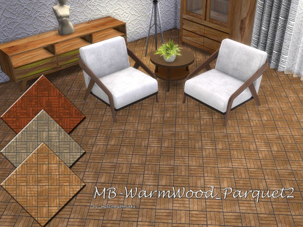 The Sims Resource: Warm Wood Parquet 2 by matomibotaki