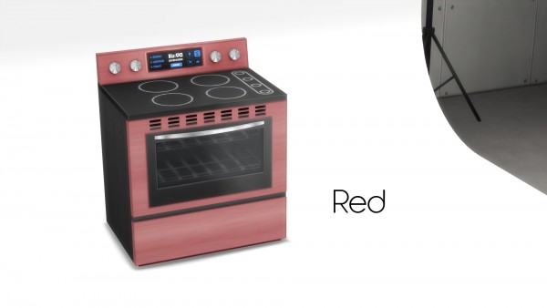 Mod The Sims: SimKitchen 2000 Series Stove by littledica