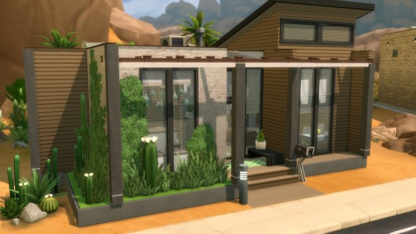 Sims Artists: ModernCo house